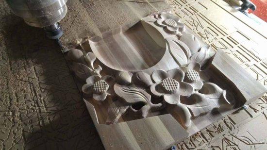 Ukázka možností obrábění dřeva