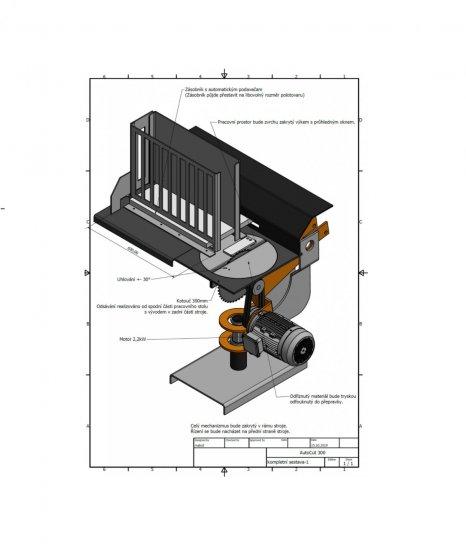 Kundenspezifische Maschine - CNC-Säge