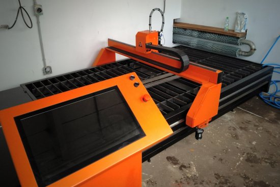 Possibilities of layout of CNC plasma