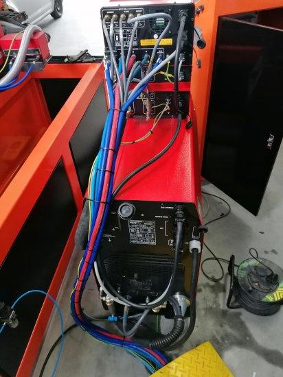 Plazmový agregát k pálicímu stroji