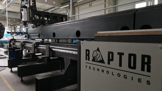 Raptor CNC drilling machine