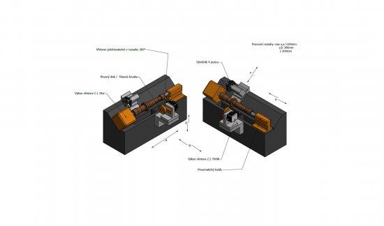 CNC Drehbank für die Holzbearbeitung