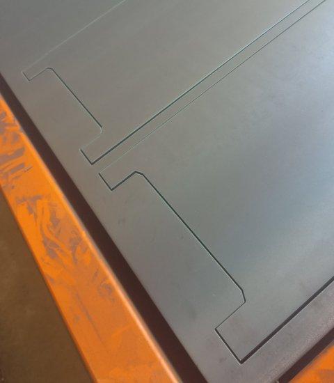 Vzorek výpalku CNC plazma AlfaIn 100A 5 mm
